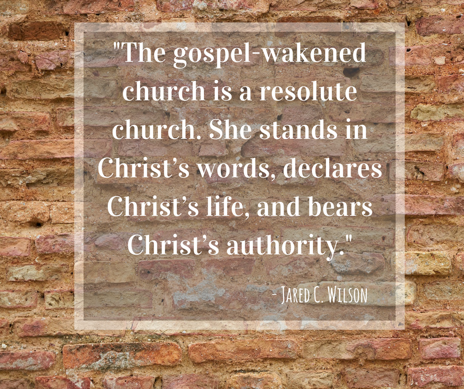 CPR Reflection: The Gospel-Wakened Church